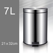 Bathroom Living Room Kitchen Covered With Creative Stainless Steel Foot Pedal