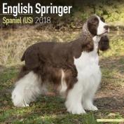 English Springer Spaniel (US) Calendar 2018