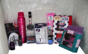 Grace Cole & Madonna, Loreal & Revlon, 14pc Eyelashes, Makeup, Nail & Skin Set, inc Foundation, Lipstick, Eyeshadow, Eyelashes & Varnish