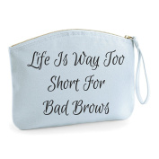 Wristlet1 Make Up Bag - Cosmetic Canvas Case