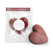 Spa Find Red Velvet Konjac Cleansing Sponge