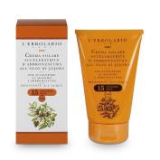 L'Erbolario Tan Accelerating Cream containing Jojoba Oil with SPF 15