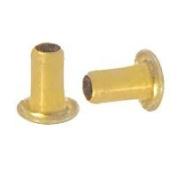 GS 2-4 Brass Eyelets 1,000 pcs