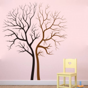 LianLe 85*100cm Lovers trees Wall Sticker Removable Quote Mural Decal for Living Room Kid's Room Bedroom