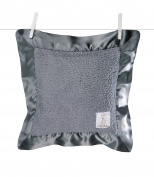 Little Giraffe Chenille Pillow, Charcoal, 36cm x 36cm