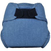 Tidy Tots Nappies Hassle Free Real Denim Hook & Loop Nappy Cover O/S