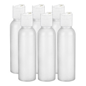 MoYo Natural Labs Hdpe 60ml disc cap Commercial Grade Travel Bottle Thick and Easy to Squeeze with Sturdy Disc Caps BPA Free Tsa Approved Airline Bottle Made in USA Pack of Six