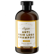 Calily Life Organic Hair Growth and Anti Hair Loss Shampoo, 500ml– For Men & Women - Infused with Caffeine, Argan Oil, Vitamins B5, B7 and more - Protects Against Hair Loss, Strengthens & Thickens