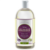 Calily Life Aromatherapy Lavender and Chamomile Bubble Bath Soak & Wash, 1000ml– Infused with Pure Essential Oils; Lavender, Chamomile, Aloe Vera & Organic Extracts –Relaxes, Soothes & Nourishes