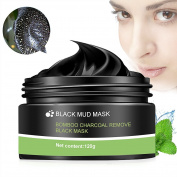 Peel Off Mask, Blackhead Peel Off Mask, Black Mask, Blackhead Remover Mask, Deep Cleaning Mask Tearing Style Purifying Mask, Active Natural Charcoal Mask Oil-control Anti Pore Acne Treatment