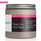 YEOUTH Dead Sea Mud Face Mask, Anti Ageing Wrinkles, Blackheads Removal, Pore Size, Breakout Clearing, Anti Ageing Facial Treatment, Facial Cleanser for Dry Skin 240ml - GUARANTEED