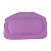 FTXJ PVC Foam Soft Comfortable Relax Bath Bathtub Suction Cups Pillow