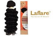 LAFLARE 100% VIRGIN HUMAN HAIR UNPROCESSED PERUVIAN LOOSE DEEP