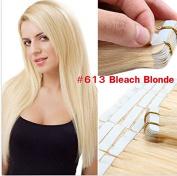 20 Pcs 50g Per Set Pu Tape in 100% Remy Human Hair Extensions Fashion Tape in Hair Extensions