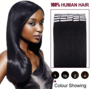 20pcs/50g 100% Remy Human Hair PU Tape In Hair Extensions