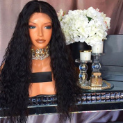 Kerrywigs Brazilian Hair Loose Wavy Full Lace Wigs Human Hair For Black Women Light Wave Glueless Lace Front Human Hair Wigs Pre Plucked Baby Hair 150 Density