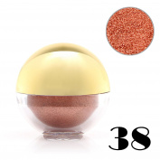 Baisidai 1 x Shimmer Pearl Loose Metallic Eyeshadow Powder Bright Eye Shadow Pigment Ball#38