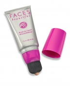 Faces Beautiful Healthy Nude Brush On Liquid Mineral Makeup