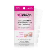 Dashing Diva Nail Guard Protective Strips, 54 ct