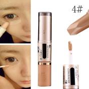 Concealer Pen Stick Cream Face Lip Eye Foundation Spot Blemish Natural Makeup Professional Dark Eye Hide Blemish Face 4#