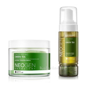 Neogen Dermalogy 2017 New Version Bio-Peel Gauze Peeling & Real Fresh cleansing Foam MULTI SET