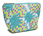 Modella Tropical Pineapple Collection Cosmetic Clutch, Pineapple