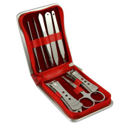 Bao Core 8 Pcs Nail Care Tools Manicure & Pedicure Set -Travel Grooming Kit