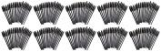 Set of 150 Eyelash Mascara Brushes! Disposable or Reusable - Black - Travel Sized - Keep Those Lashes on Fleek with These Prime Lash Wands!