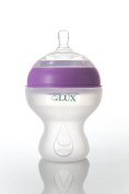 Baby Bottle Big Boob | Anti Colic | Infant Bottles | Silicone | Breastfeeding | Nursing | BPA Free | No Leak| Easy Transition | by LUX Baby Bottle