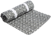 Oilo Finn Changing Pad Topper, Charcoal
