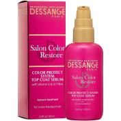 Dessange Salon Colour Restore Colour Protect System Top Coat Serum, 3.4 Fluid Ounce