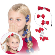 3 Colours Hair Accessories Set