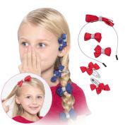 3 Colours Hair Accessories Set