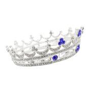 CamingHG Royal King Queen Crown Rhinestone Tiara Head Jewellery Quinceanera Crown Wedding Bride Tiaras Crowns Pageant