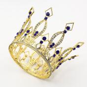 CamingHG Rhinestone Crown Tiara Wedding Pageant Bridal Diamante Headpiece Jewellery