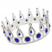 CamingHG Crystal Tiara Crown Wedding Hair Accessories Bridal Hair Jewellery Wedding Accessories