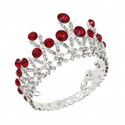 CamingHG Wedding Hair Accessories Silver Colour Jewellery Bridal Diadem Crown