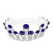 CamingHG Crystal Glass Tiara Crown Woman Hair Jewellery Rhinestones Wedding Crown Hairwear Bride Accessories