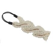 Shineweb Princess Floral Lace Elastic Headband