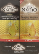 TIO NACHO Younger Looking Shampoo Conditioner, Twin Pack