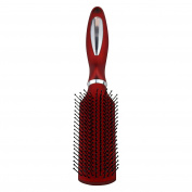 The Classic Styling Red Hair Brush, For all Hair Types and Hair Lengths, Professional Look