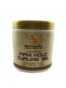 B & B Firm Hold Curling Gel 180ml