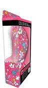 My Beauty Spot Colour Rush Daily Hair Detangler Brush Pink Floral Pattern
