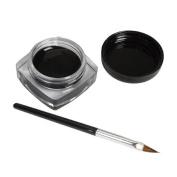 SAMGU Pro Waterproof Black Eye Liner Eyeliner Gel Cream With Makeup Brush