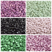300 beads 6 colours Set PCH 005 Pinch Czech Pressed Glass Beads Triquetrous 5x3.5mm, PCH019 PCH023 PCH040 PCH068 PCH107 PCH108