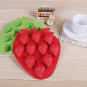 1 X Strawberry Mould Silicone Mould Cake Tools Cookie Cutter Ice Moulds Cake Mould Bakeware Tools
