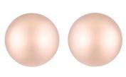 J Goodin Julia Rose Gold Sphere Stud Earrings