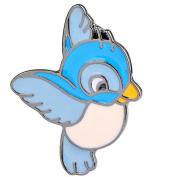 Hosaire Brooch Pin Women's Cute Blue Birds Scarf Pin Lapel Brooch Sweater Pin Style 2