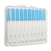 40Pcs Interdental Floss Brushes Dental Oral Care Soft Clean Between Tool Set