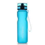 ONEISALL GYBL296 1000ML Sports Tritan Water Bottle 32oz, Leak Proof Flip Top Lid, Opens With 1-Click, Eco Friendly BPA-Free Plastic for Gym, Yoga, Running, Outdoors, Cycling, and Camping, 200g
